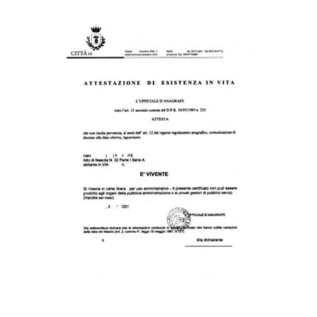 certificato-di-esistenza-in-vita