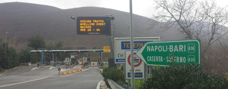 ANCHE TU MULTA SUL TRATTO AUTOSTRADALE CANOSA – NAPOLI A 80 KM/H?