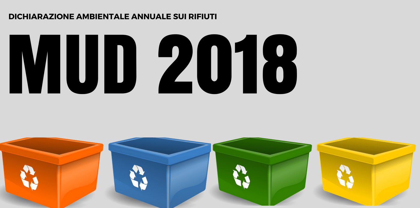 rifiuti, dichiarazione annuale 2018
