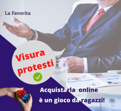 visura protesti acquistarla online
